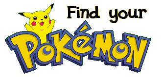 Pokemon'unuzu bulun